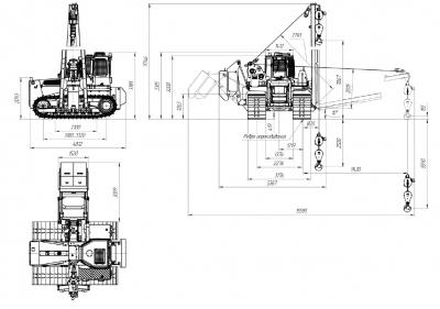 Трубоукладчик ТГ20.32 ГСТ