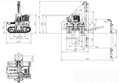 Трубоукладчик ТО12.24 ГСТ